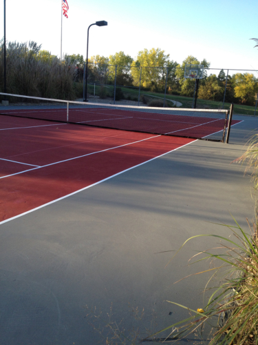 Private Residence Tennis & Basketball